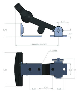 089-0100 - Latches - Unassembled Kit