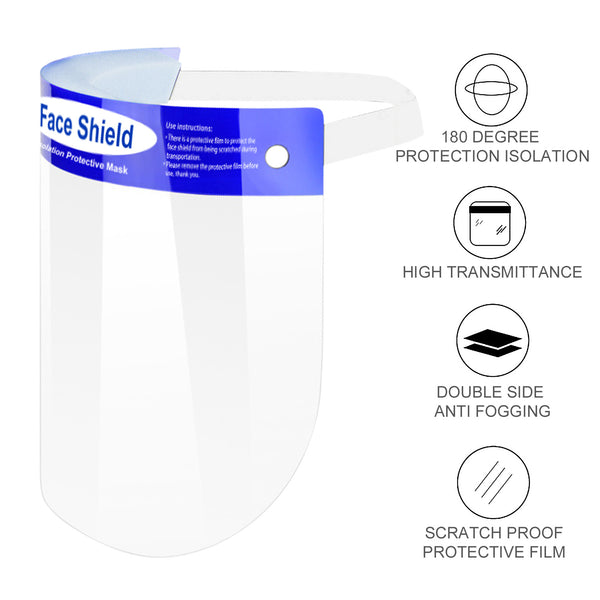 All-Round Protection Cap with Shield 10/20/50/100 Pack (Model-FS)
