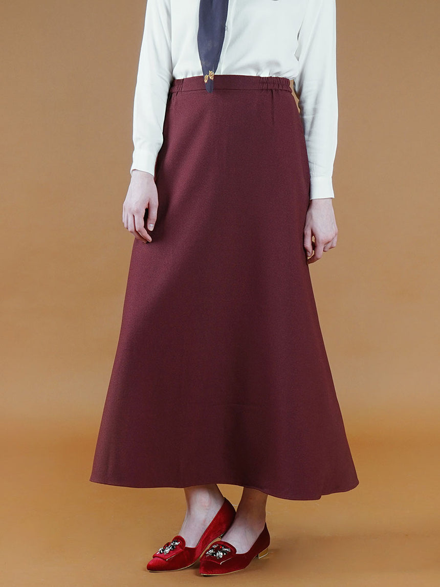 Kashvi Daily Skirt Maroon