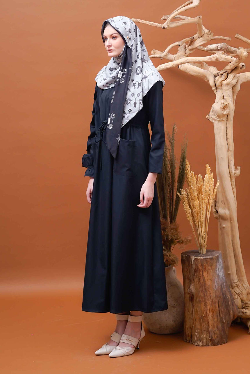 Nanjan Dress Black [Anti Air]