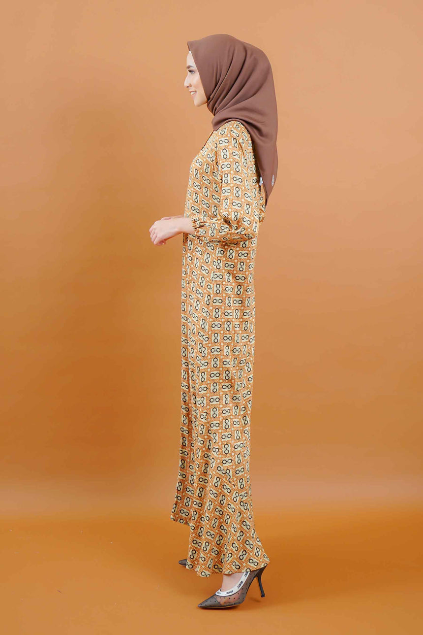 Alisya Dress Caramel