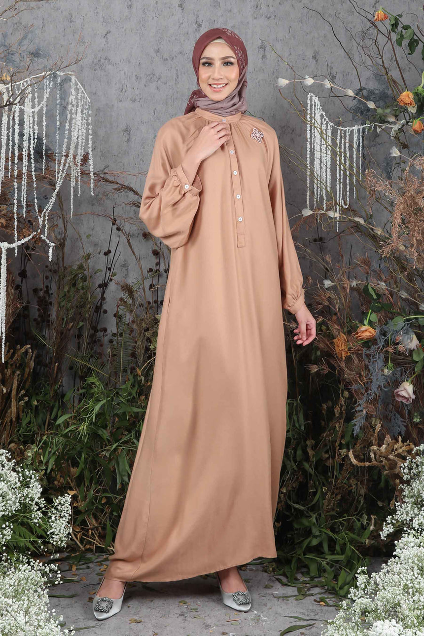 Melody Dress Walnut