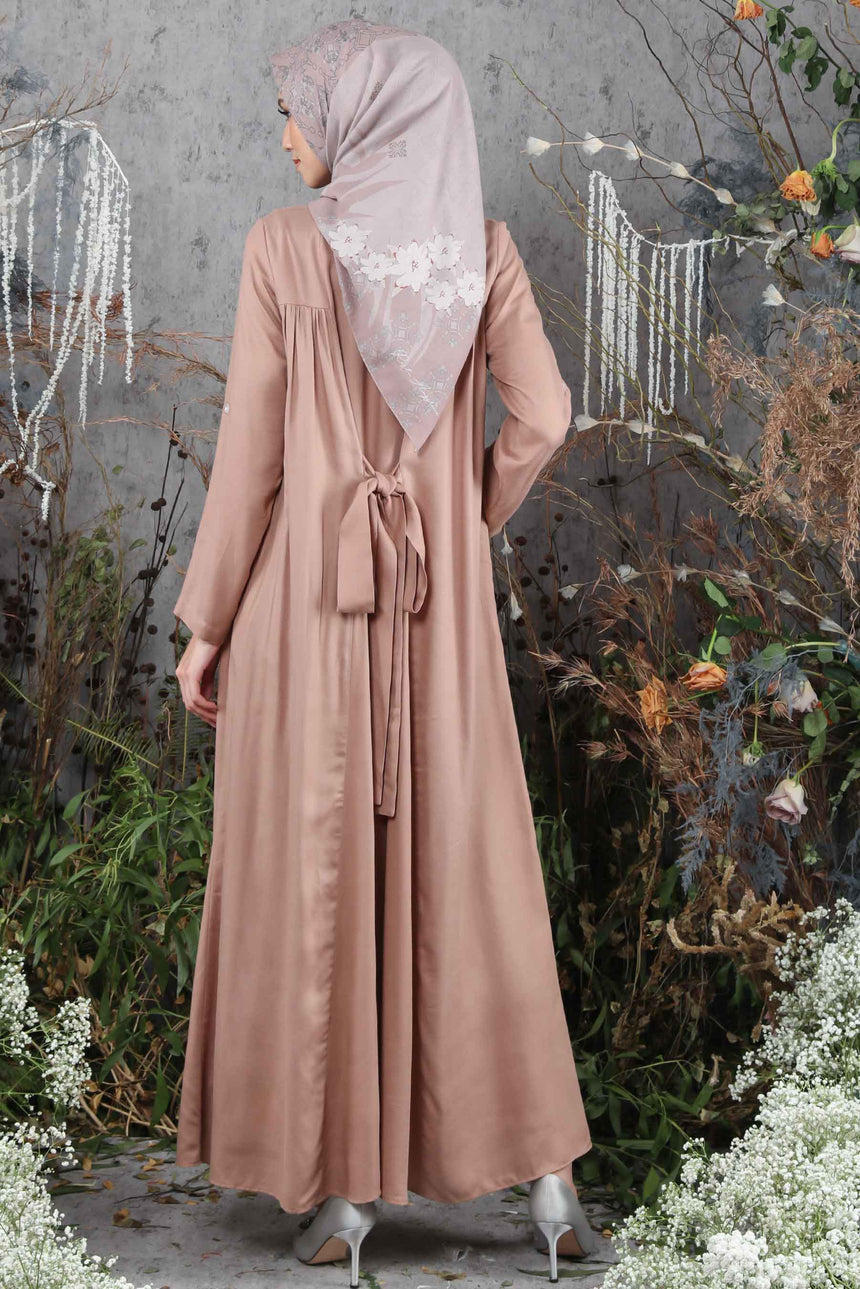 Kenang Dress Mocha