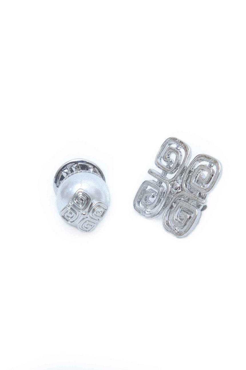 Stamp Pin Set White K