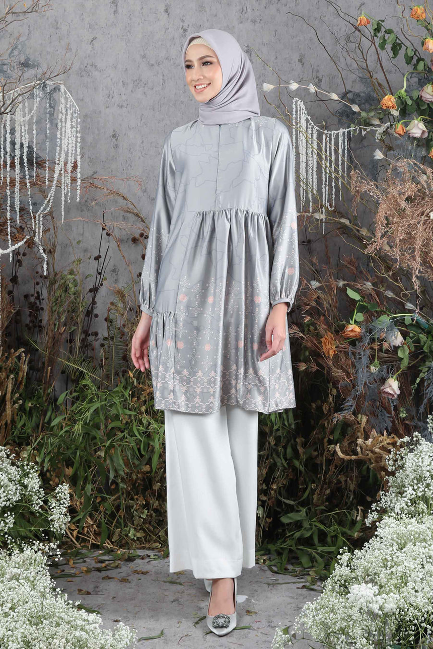 Aluna Blouse Grey