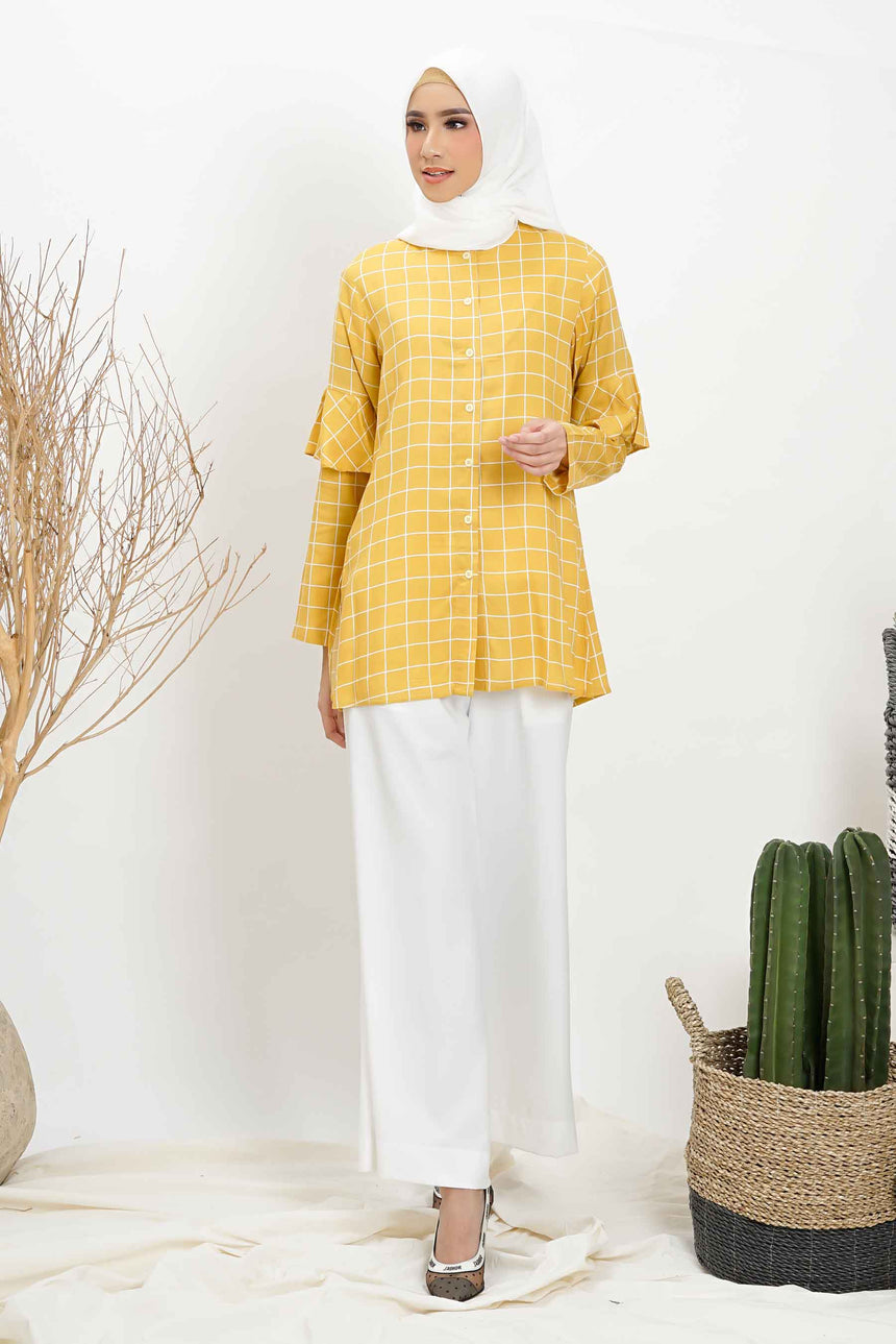 Sadie Blouse Yellow