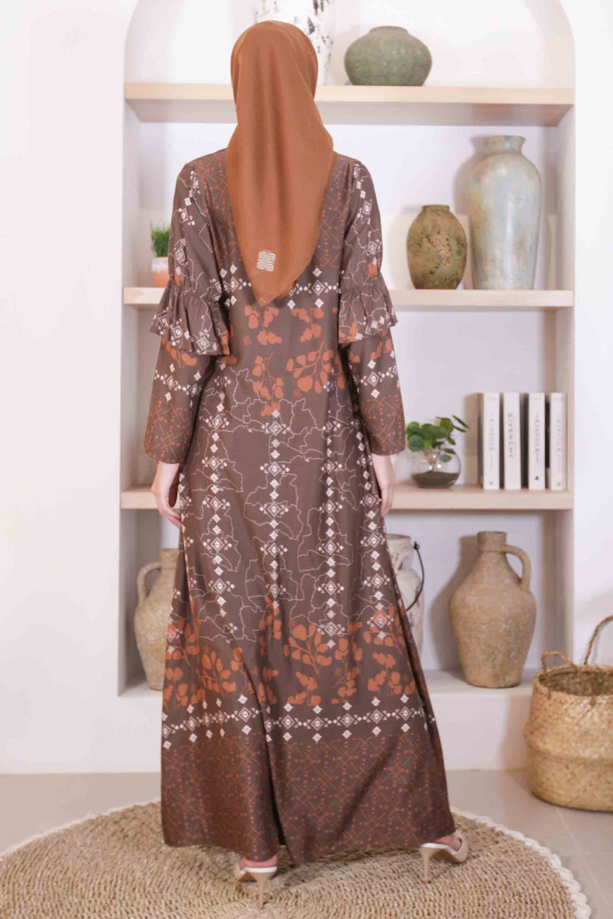 Asoka Dress Caramel