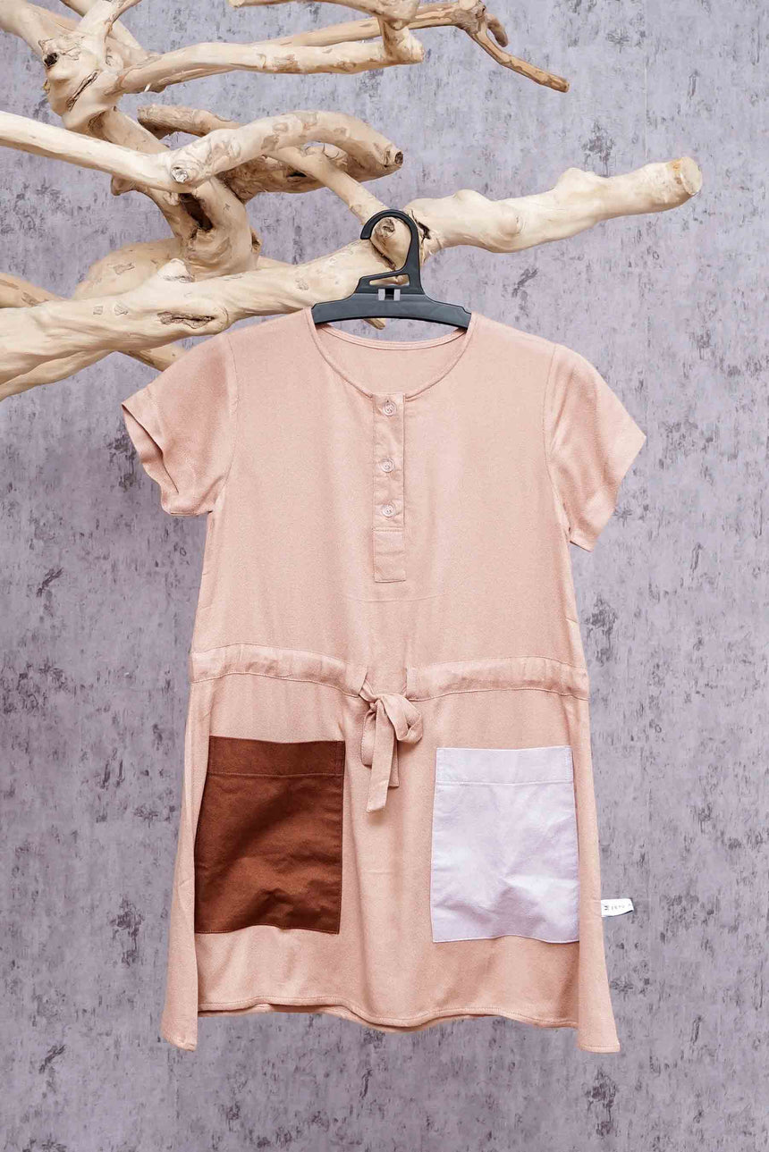 Lily Dress Kids - Walnut