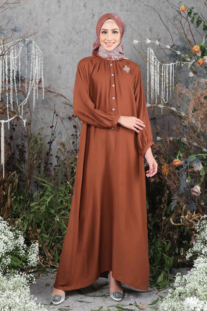 Melody Dress Caramel