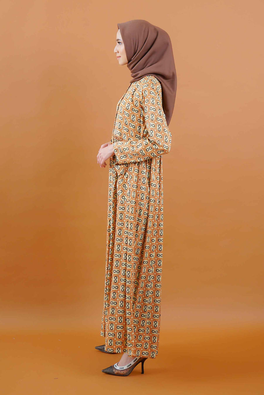 Aliyah Dress Caramel
