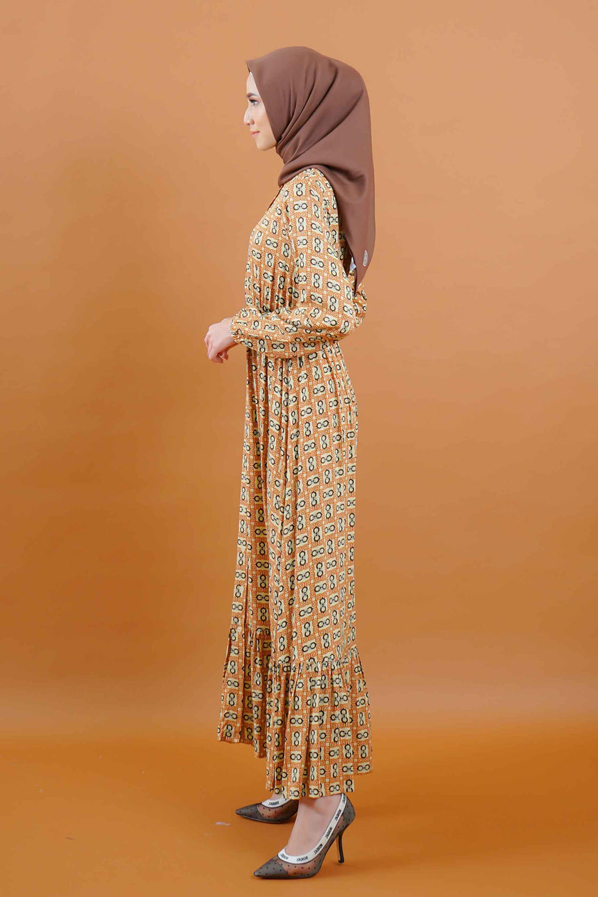 Nora Dress Caramel