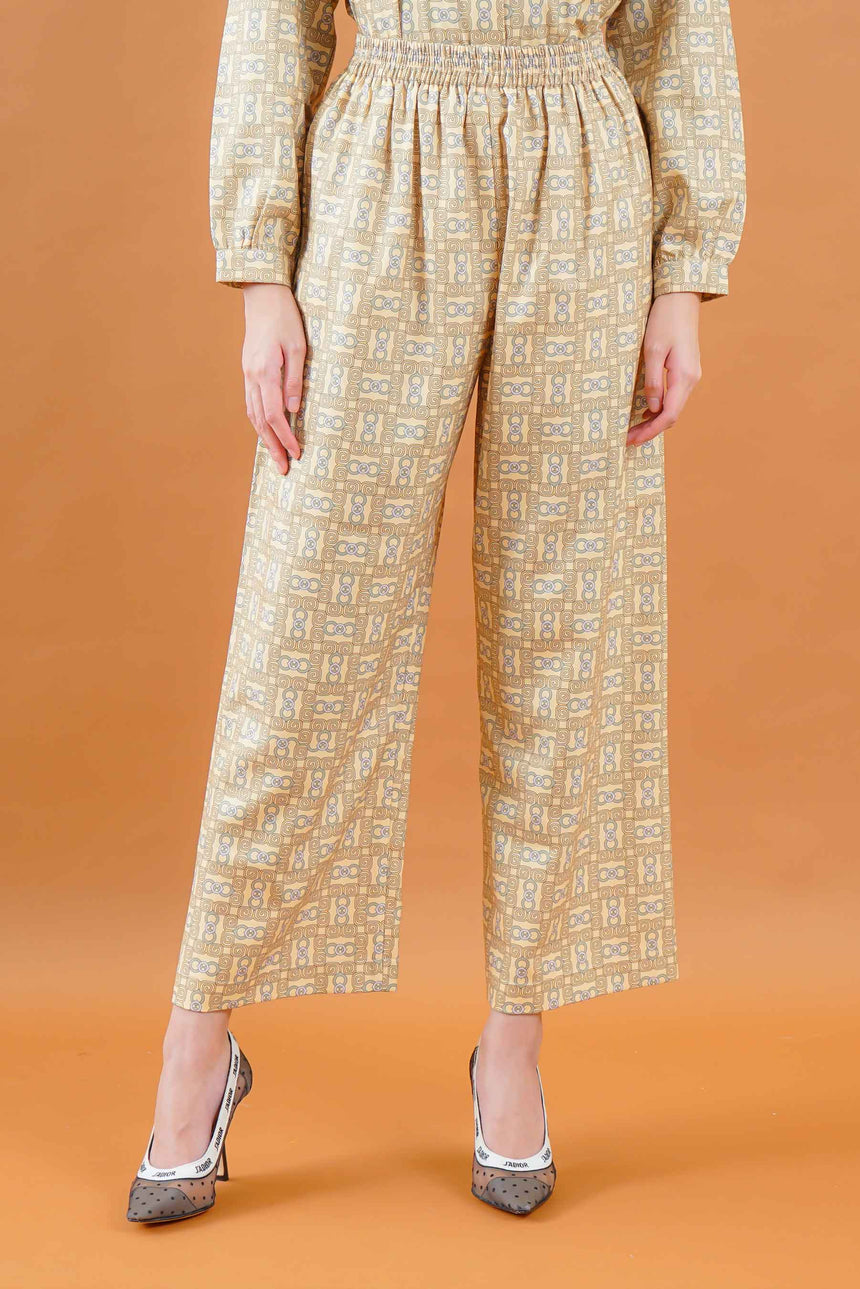 Olivia Stamp Pants Lemonilo