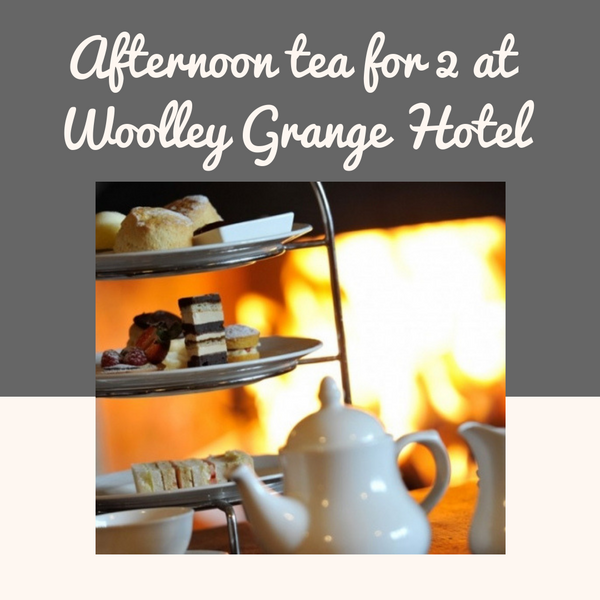 Win afternoon tea for 2 at Woolley grange hotel
