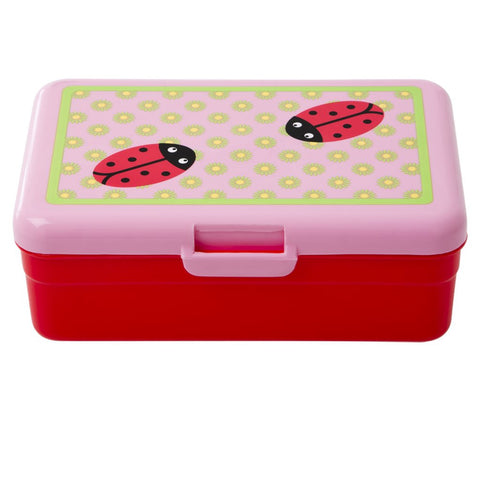 RICE KIDS LUNCH BOX LADYBUG PRINT