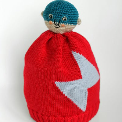 BRAVELING BOBBLE BEANIES LITTLE HERO