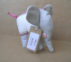 NELLY ELEPHANT SOFT TOY - PONCHO