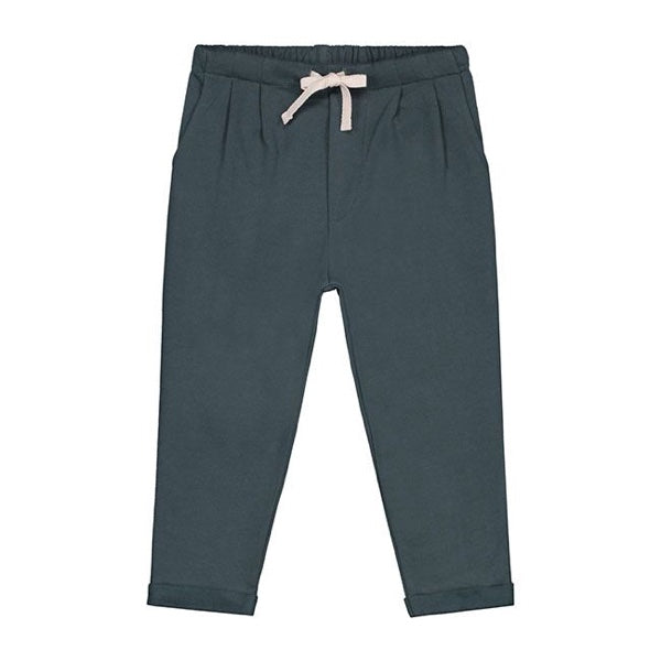 GRAY LABEL PLEATED TROUSER – BLUE GREY