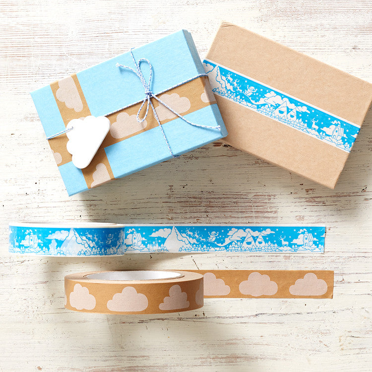 PYGMY CLOUD - GIFT TAPE - CLOUDY OR CHRISTMAS
