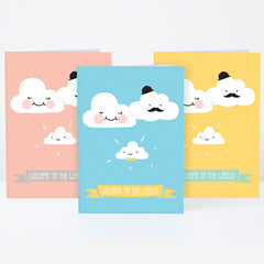 PYGMY CLOUD - CLOUD NEW BABY GREETING CARD
