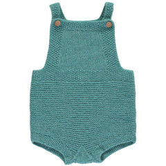 OLIVIER BABY & KIDS LIBERTY CASHMERE ROMPER - JADE