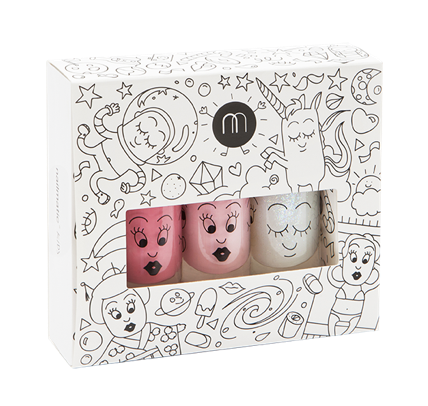 NAILMATIC KIDS - NAIL POLISH COSMOS GIFT SET