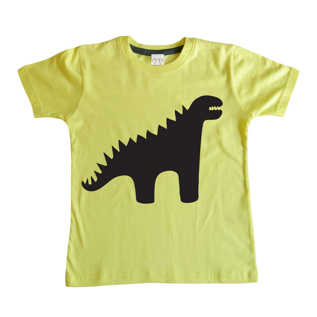 Little Mashers Kids Chalkboard T-shirt-  Dinosaur or Elephant