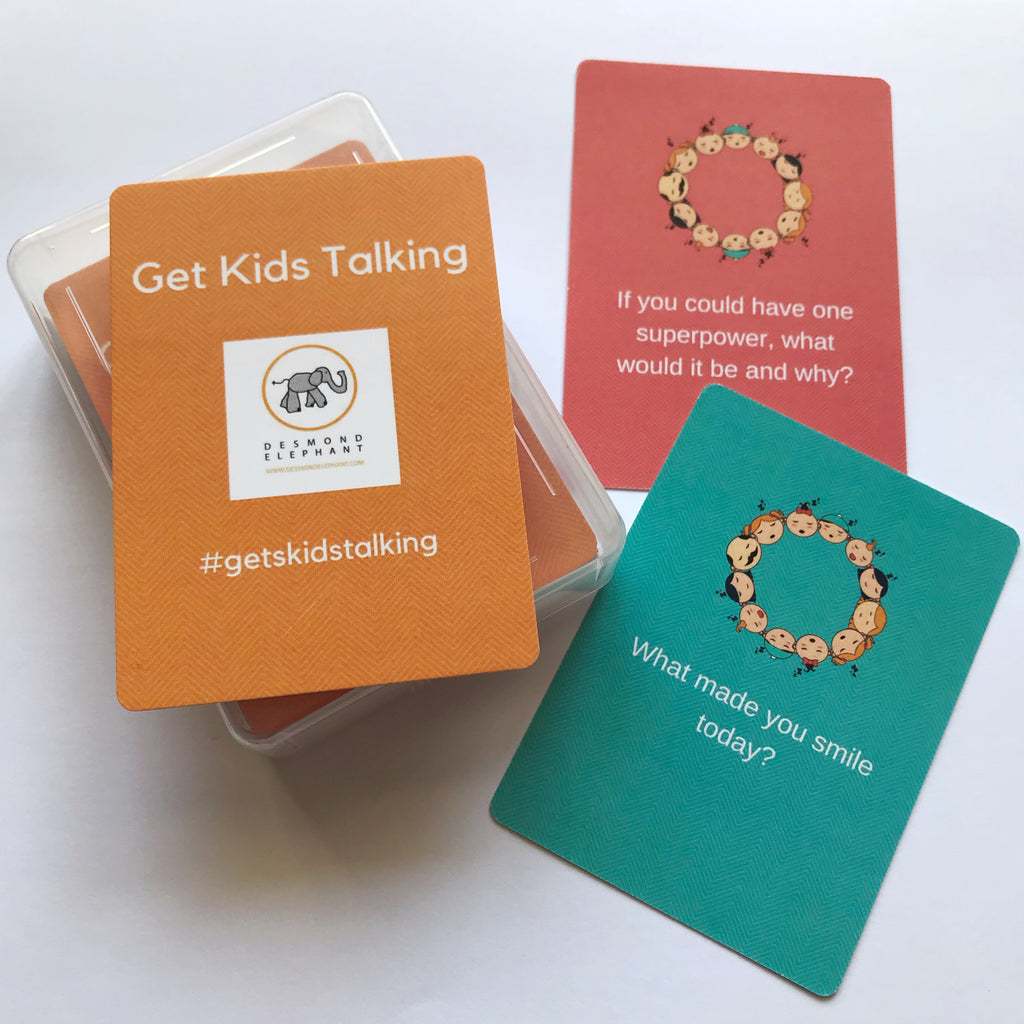 Desmond Elephant Get Kids Talking cards