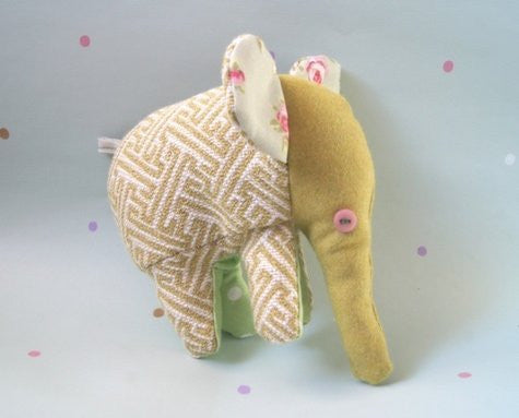 NELLY ELEPHANT SOFT TOY - SUMMER
