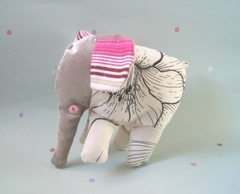 NELLY ELEPHANT SOFT TOY - INDIA