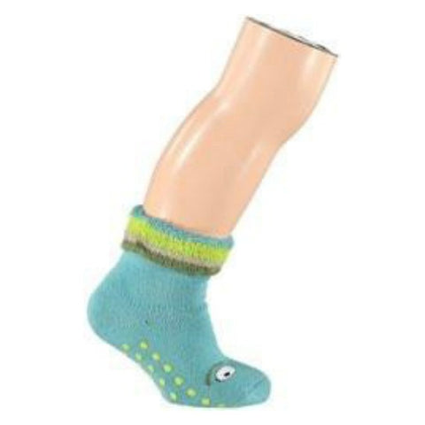 UBANG BABBLECHAT TALKIE WALKIE ANTI-SLIP BABY SOCK – TROPICAL BLUE