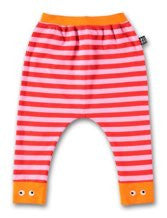 UBANG BABBLECHAT BABY PANTS- PINK/RED STRIPES