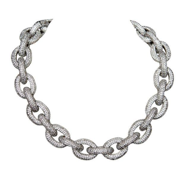 "Couture ZIRCONITE LINKS OF ""BONDAGE"""
