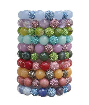 Faceted Genuine Beads