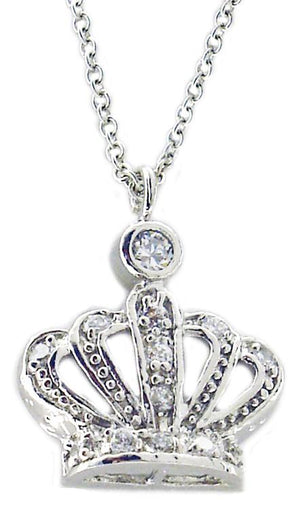 Link Pace Cz Md Crown in S/S Rhodium