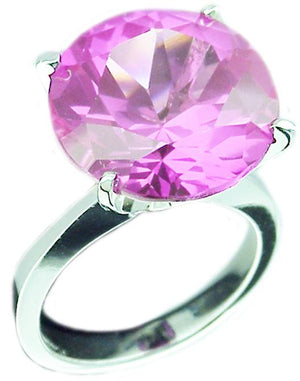 Ring Solitaire 12Ct Round Cz