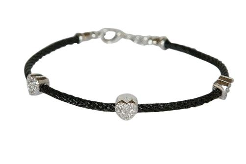 Steel Braded Cable Bracelet