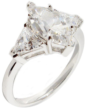 Ring Mq Cut Center Cz Tr Side Cz's