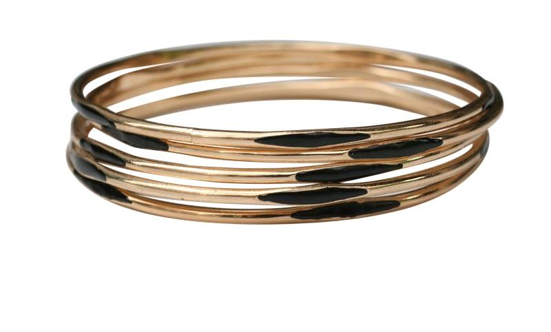 Gold Electroplated Bangle