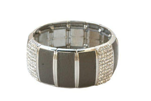 Leatherette Stretch Bracelet
