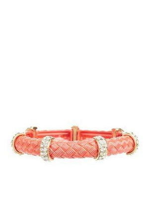 Two Toned Stretch Bracelet