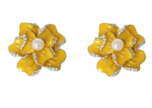 Color Flower Earring