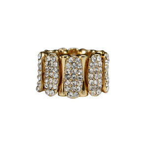 Oval Bars Ring