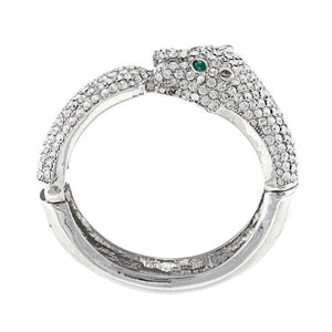 Green Eyes Crystals Bangle