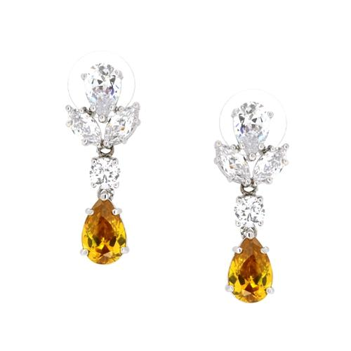 Classic Couture Tear Drop Post earrings