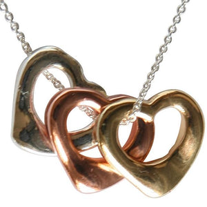 Heart Electroplated Pendant