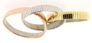 Omega Style Bangle Bracelet