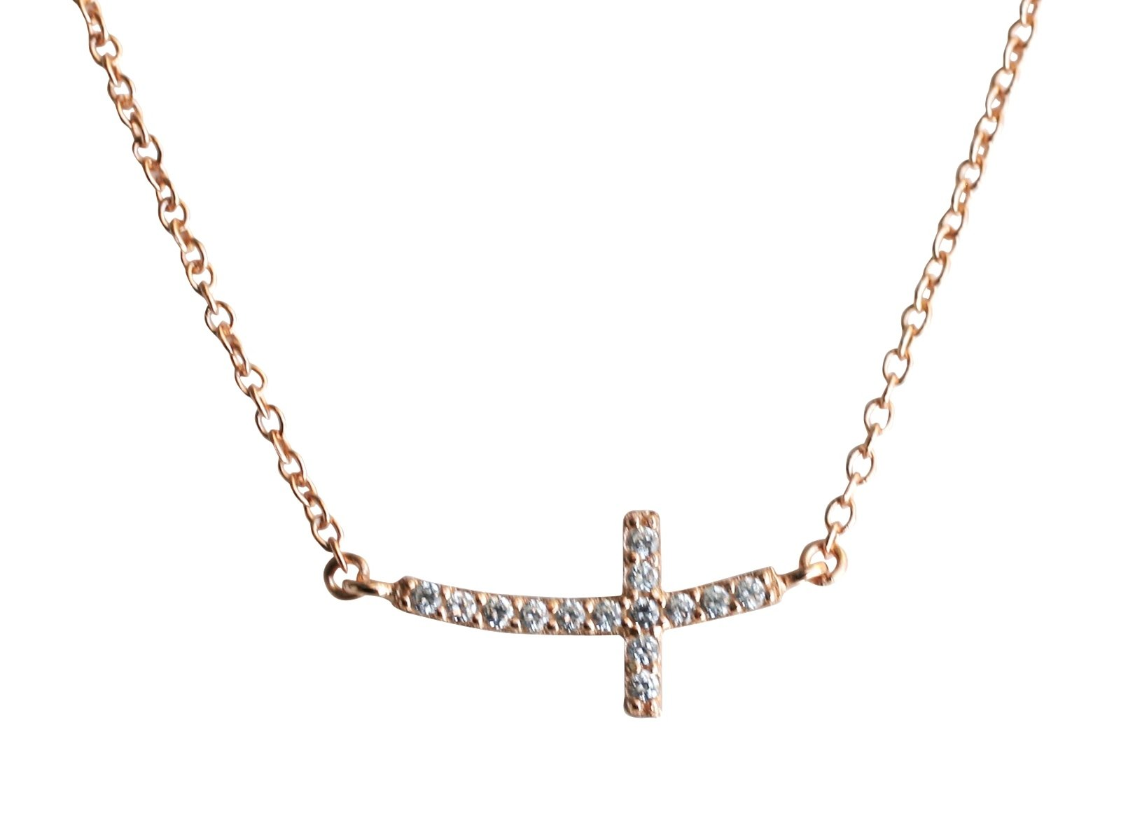 Horizantal Cross Pendant