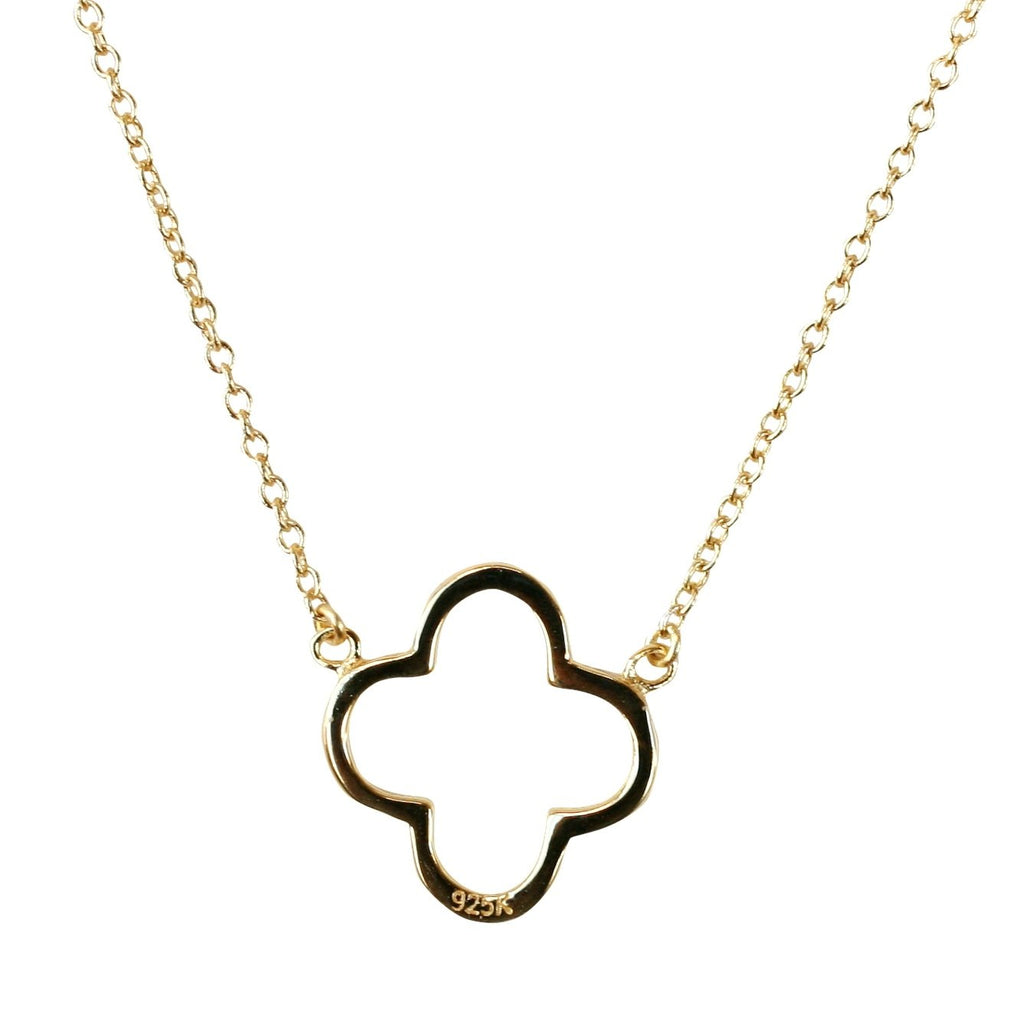 Polished Clover Pendant
