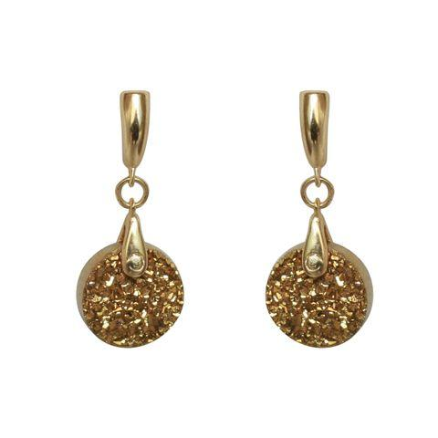 Round Bail Drop Earring