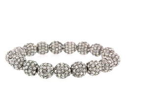 12MM Fireball Stretch Bracelet
